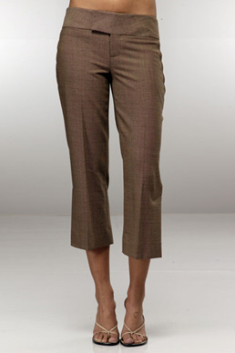 cropped slacks