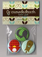 Crowded Teeth Animal Pals Button Pack