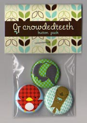 Crowded Teeth Buttons
