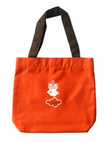 Crowned Bird Tote