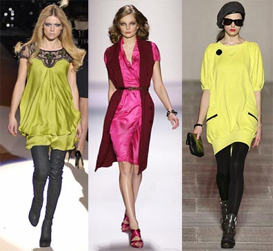 Fall 2008 Fashion Week Trend: Day Glo Brights