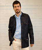 Built By Wendy Denim Army-Navy Jacket