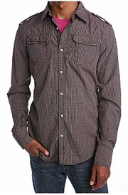 Diesel Strude Military Woven Shirt