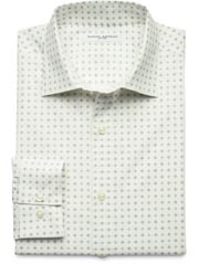Fitted Dotted Diamond Dress Shirt at Banana Republic