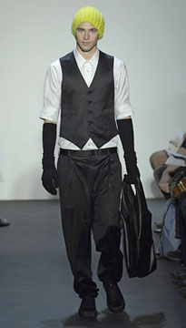 Duckie Brown Fall 2007 Runway