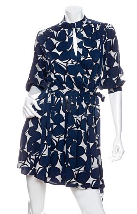 Diane von Furstenberg Abel Wrap Mini Dress