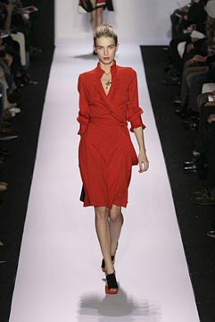 Sleeved Dresses at Diane von Furstenberg