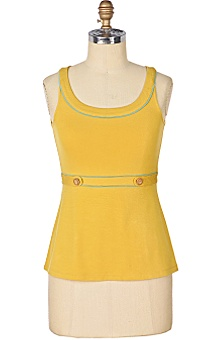Anthropologie Edie Scoopneck Tank
