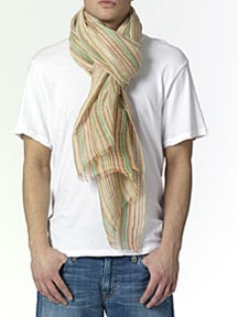 "Etro ""Rigata\"" Scarf at Scoop"