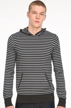 Fink Popover Striped Sweater