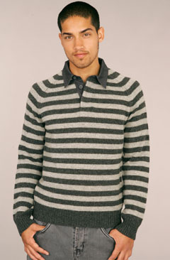 Fink Rugby Striped Sweater