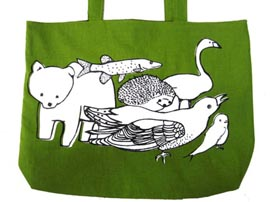 Finnish Animals Tote Bag