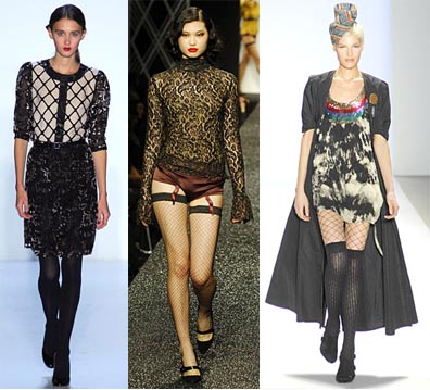 Fall 2008 Fashion Week Trend: Fishnets