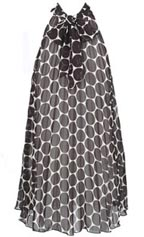 Mod Flared Dottie Dress at Forever 21