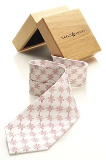 Floral Regiment Tie at Naked & Angry