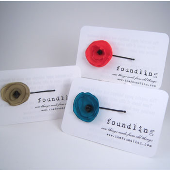 Foundling Recycled Hairpins