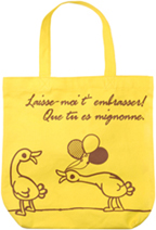 French Duck Canvas Tote