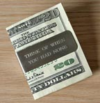 Funny Money Clip at Elsewares