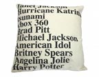 Google News Top Searches Pillow