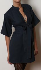 Greek Wool Shirtdress