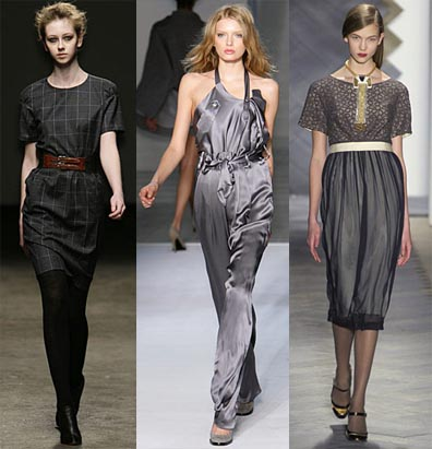 Fall 2008 Fashion Week Trend: The Color Grey