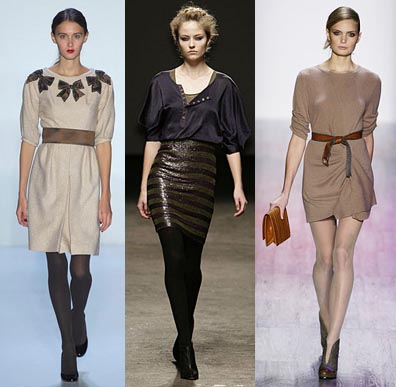 Fall 2008 Fashion Week Trend: Half Sleeves