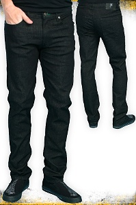 H Black Skinny Stretch Jeans