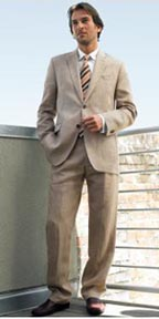 Banana Republic Heritage Linen Suit