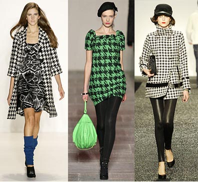 Fall 2008 Fashion Week Trend: Houndstooth