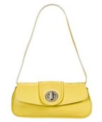 Issac Mizrahi Flap Bag With Buckle