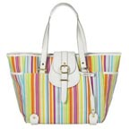Issac Mizrahi Striped Tote