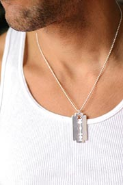 Jessica Elliot Razorblade Necklace