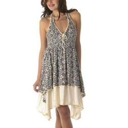 Jovovich-Hawk Arabesque Halter Dress
