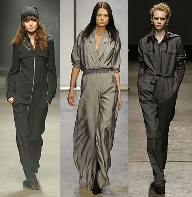 Fall 2008 Fashion Week Trend: The Jumpsuit