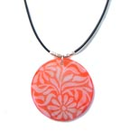 "Julie Garland ""Just Peachy\"" Necklace"