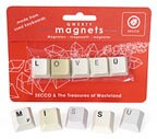 Querty Love Letters Magnets