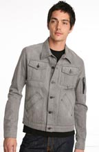 Kill City Silver Denim Jacket
