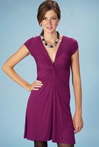 I.NER Knot Front Dress