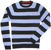Le Tigre navy stripe sweater