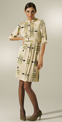 Mara Hoffman Pin Tuck Front Dress