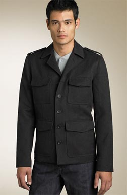 Marc by Marc Jacobs Whipcord Military Blazer