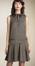 Marc by Marc Jacobs Drop Waist Canvas Dress