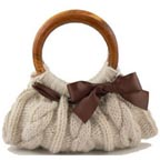Margaret Nicole Cream Bangle Bag