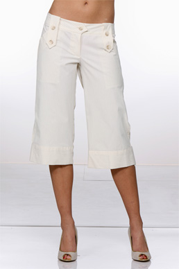 Mason Crop Pants with Tabs