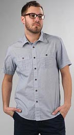 Trovata Mast Short Sleeve Button Down