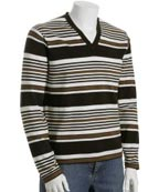 Michael Kors Coffee Stripe Sweater