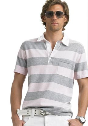 Michael Kors Striped Polo