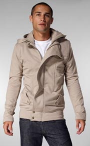 Mike & Chris Mercer Zip Up Hoodie for Men