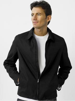Modern Short Zip Jacket