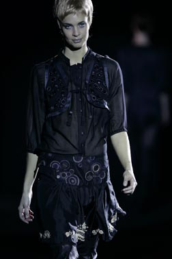Munthe plus Simonsen Fall 2007 Runway